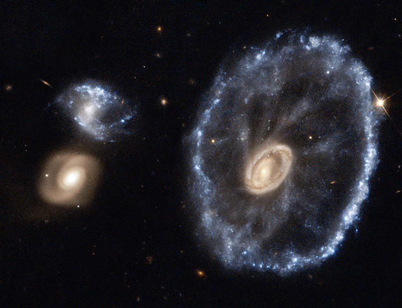 La Galaxie de la Roue de Chariot ❈
