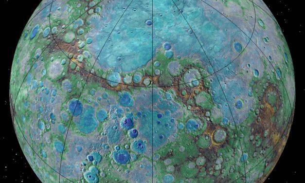 La planète Mercure rétrécit 👍😊
